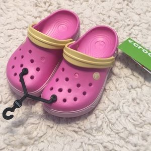 New with tags Crocs junior girls sz 2